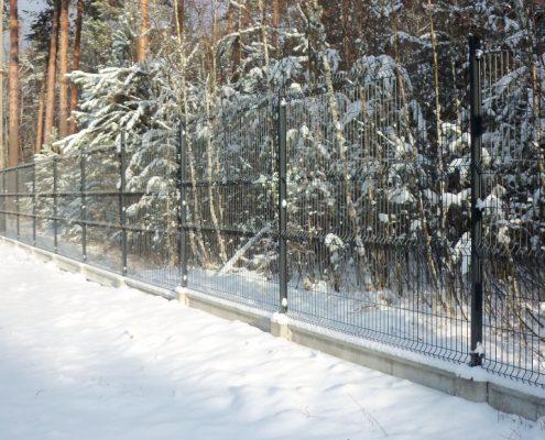 Proste ogrodzenie