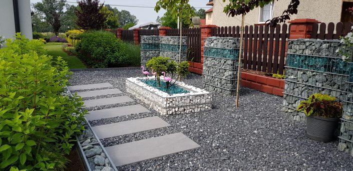Ogródek z gabionami 3